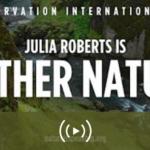 Julia Roberts es Madre Naturaleza en este cortometraje espectacular y muy didáctico.